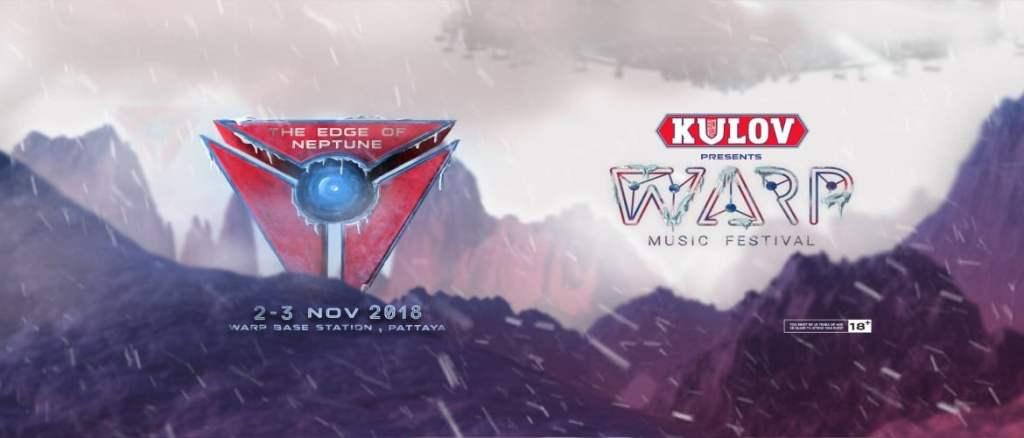 Warp Music Festival Pattaya 2018!