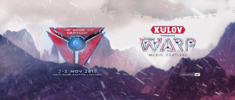 Warp Music Festival Pattaya 2018