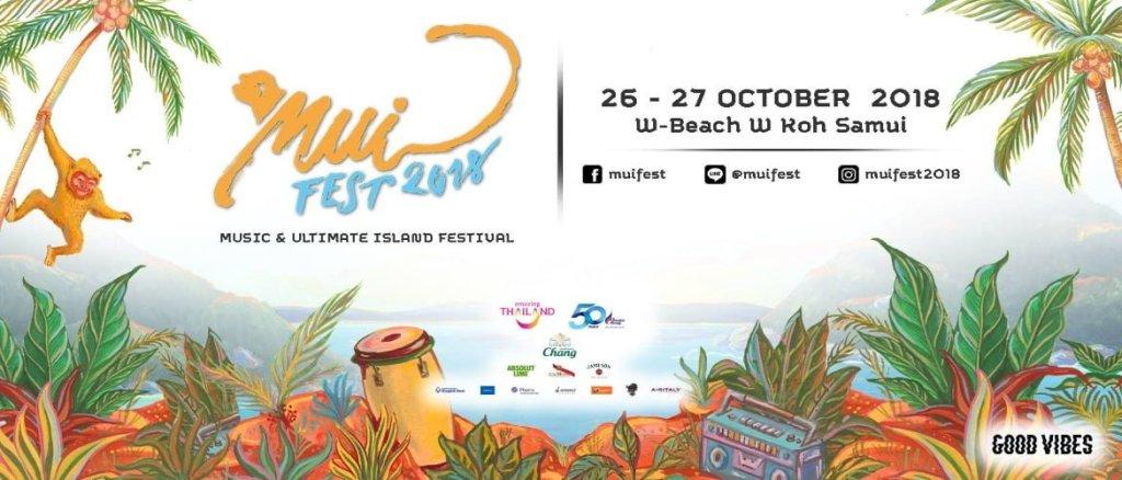 Mui Fest Koh Samui Thailand 2018!