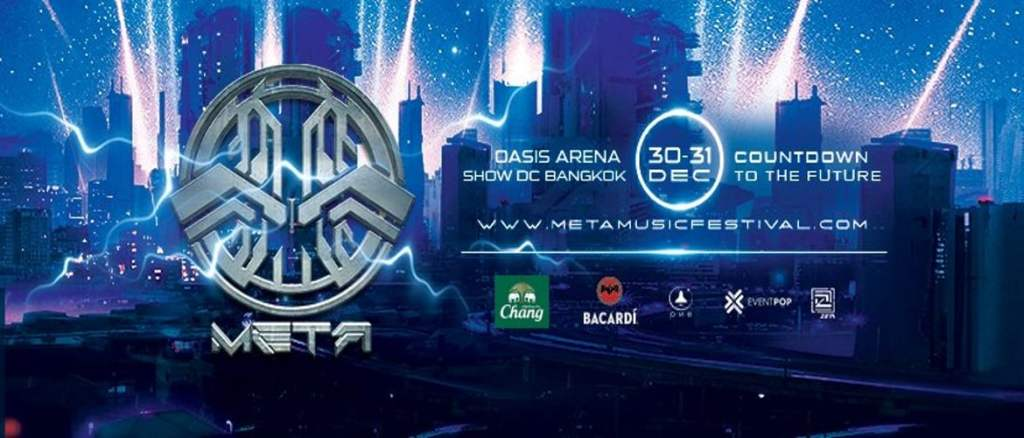 Meta Music Festival Bangkok Countdown to the Future!