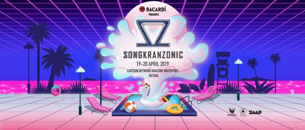 Songkranzonic Pattaya 2019!