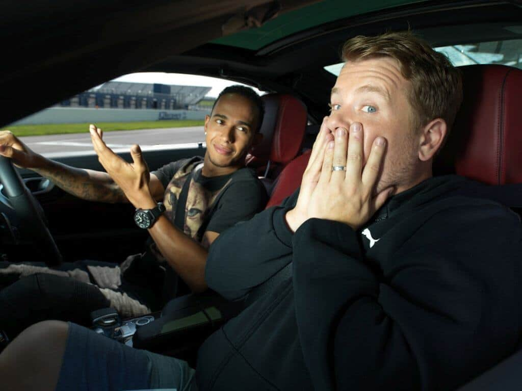 James Corden drives around with guests. Thailand Event Guide