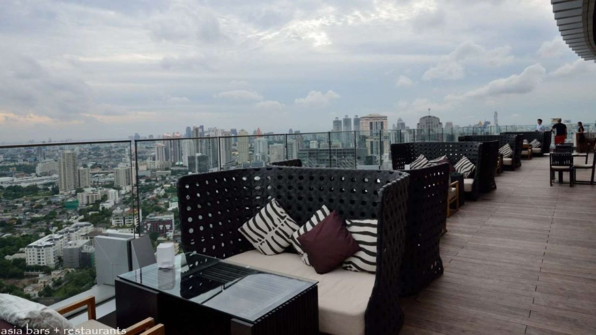 Stylish Bangkok Rooftop Lounge Bar