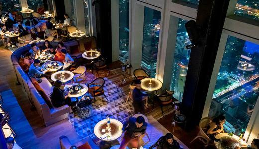 マハナコン スカイバー バンコク最高層レストラン