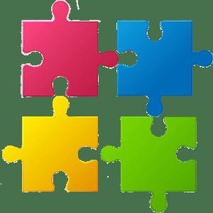 4 piece jigsaw