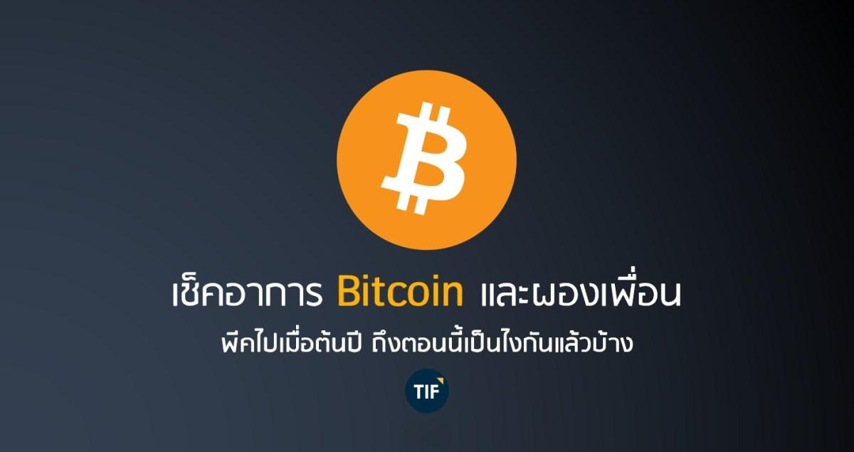 เช็คอาการ Bitcoin และผองเพื่อน พีคไปเมื่อต้นปี ถึงตอนนี้เป็นไงกันแล้วบ้าง