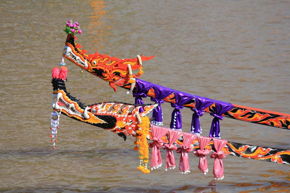 ประเพณีแข่งเรือเมืองน่าน (Long Tail Boat)