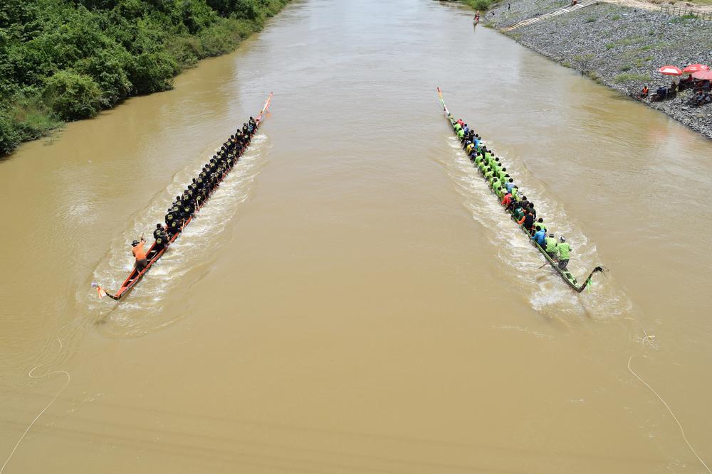 Long Tail Boat (ประเพณีแข่งเรือเมืองน่าน)