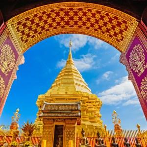 พระธาตุดอยสุเทพ (Wat Phra That Doi Suthep), Chiang Mai Thailand