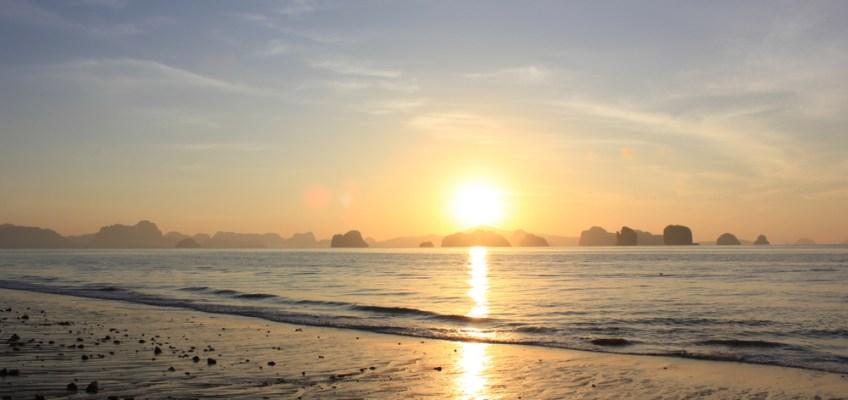 Sightseeing Spot called Tha Khao Bay (จุดชมวิวที่หาดท่าเขา)