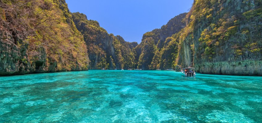 Bay at Phi Phi Islands