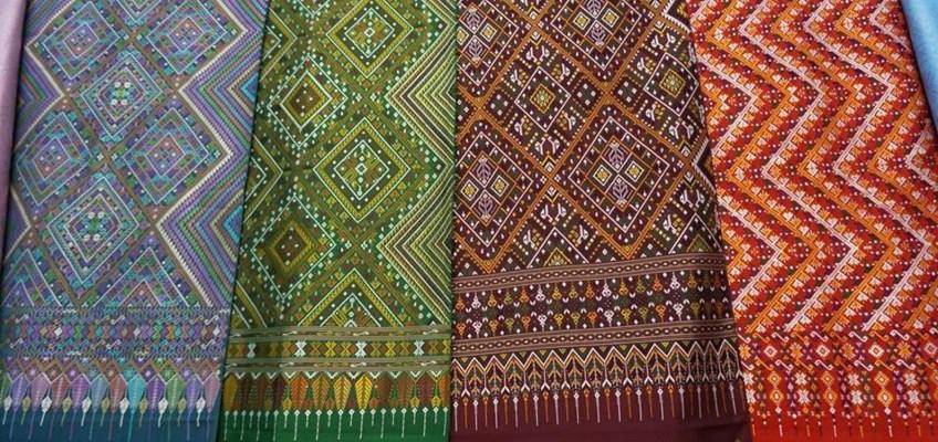 Praewa fabric of Baan Pon (ผ้าแพรวา บ้านโพน)