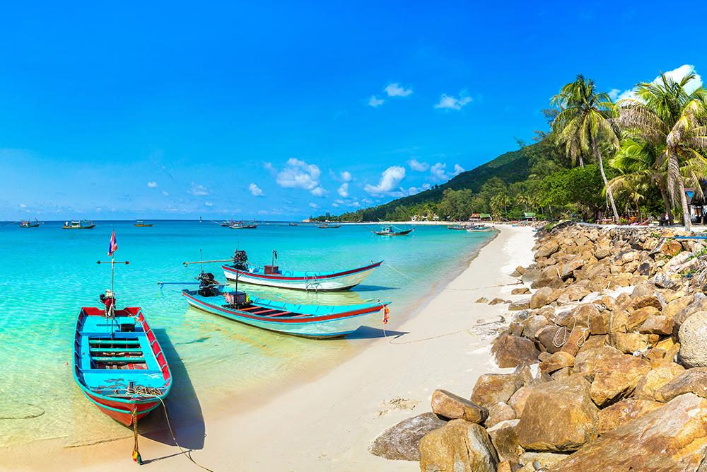 Travel Thai beaches in AugustKoh Pha Ngan