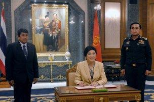 Royal Thai Army signing