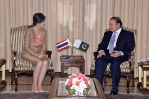 Yingluck and Nawas Discussion
