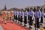 Yingluck Pakistan Honor Guard