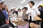 Nong Khai YL speaking to local women