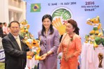 Yingluck and world cup