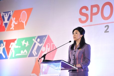 Yingluck speech