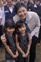 YL with children