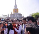 Phra That Na Dun - in front