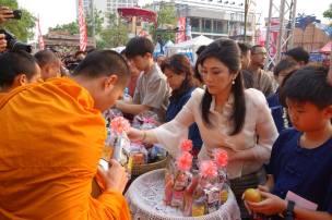 Yingluck, Son in Chiangmai