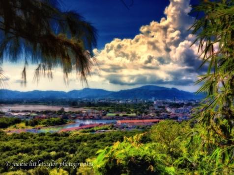 view Phuket Harbor, Phuket Town Thailand