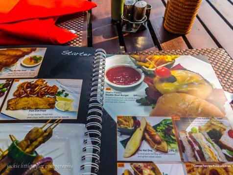 @Beach Restaurant menu
