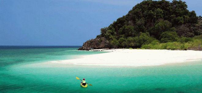 Острова в тайланде с белым песком