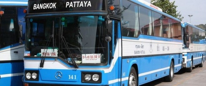 Рейсовым автобус Паттайя - Бангкок
