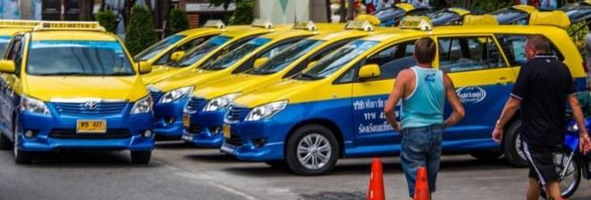 паттайя бангкок - такси