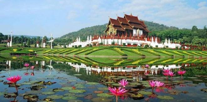город Чиангмай в Таиланде