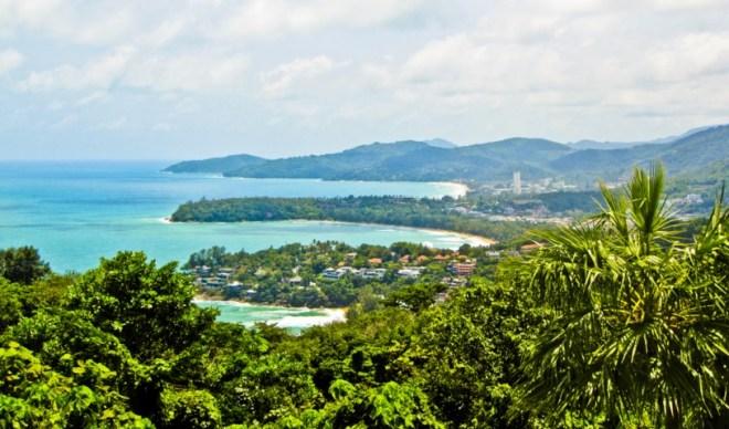 Вид на остров Панган