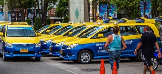 Сколько стоит такси в Паттайе