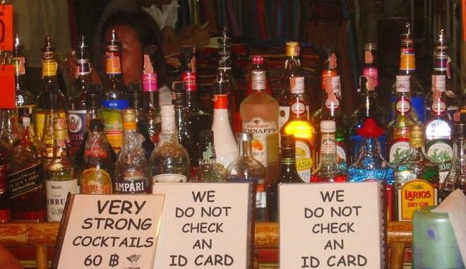 цены на алкоголь в Таиланде