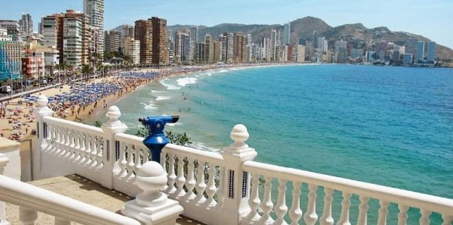 Лучшие пляжи Испании - Коста Бланка