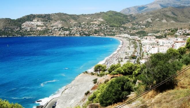 Лучшие пляжи Испании - Коста дель Соль