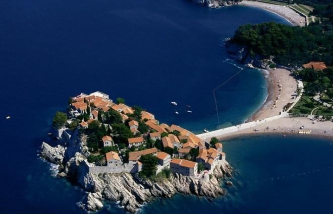 Остров Святого Стефана - Черногория