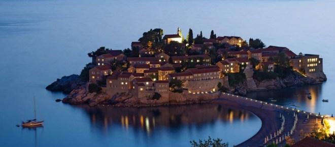 Остров святого Стфена в Чеерногории