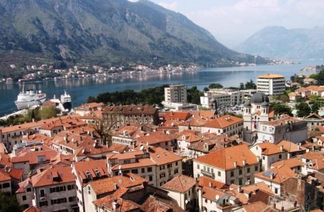 Старый город Бара в Черногории