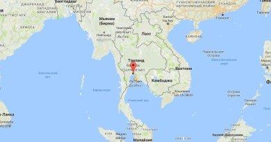Где находится Бангкок