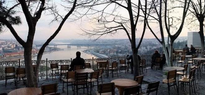 Чаепитие в кафе Пьера Лоти стамбул