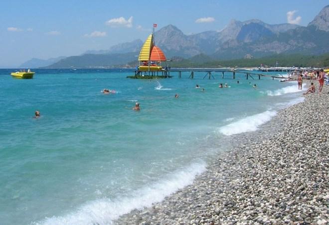 Кемер - пляж