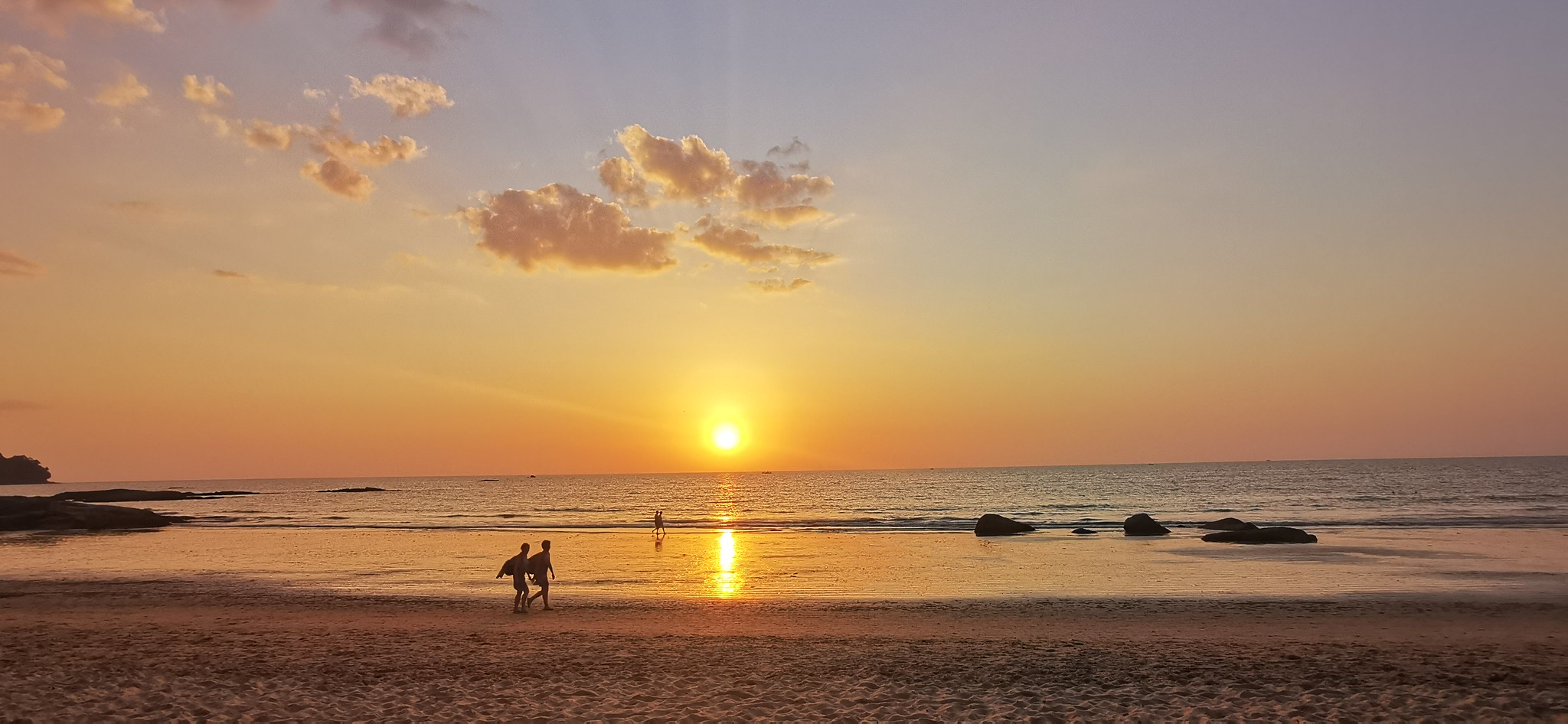 Khao Lak, Laguna, sunset