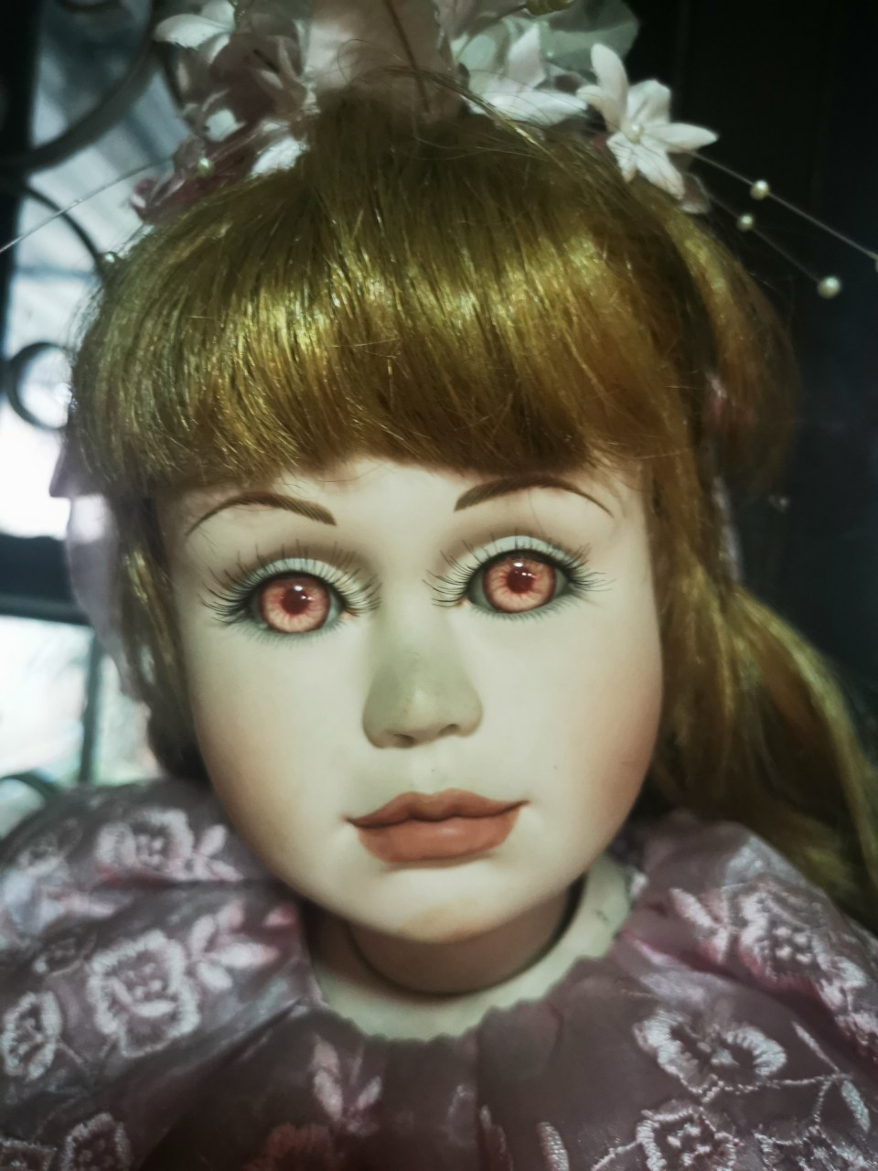 A doll in the Chiang Mai doll museum.
