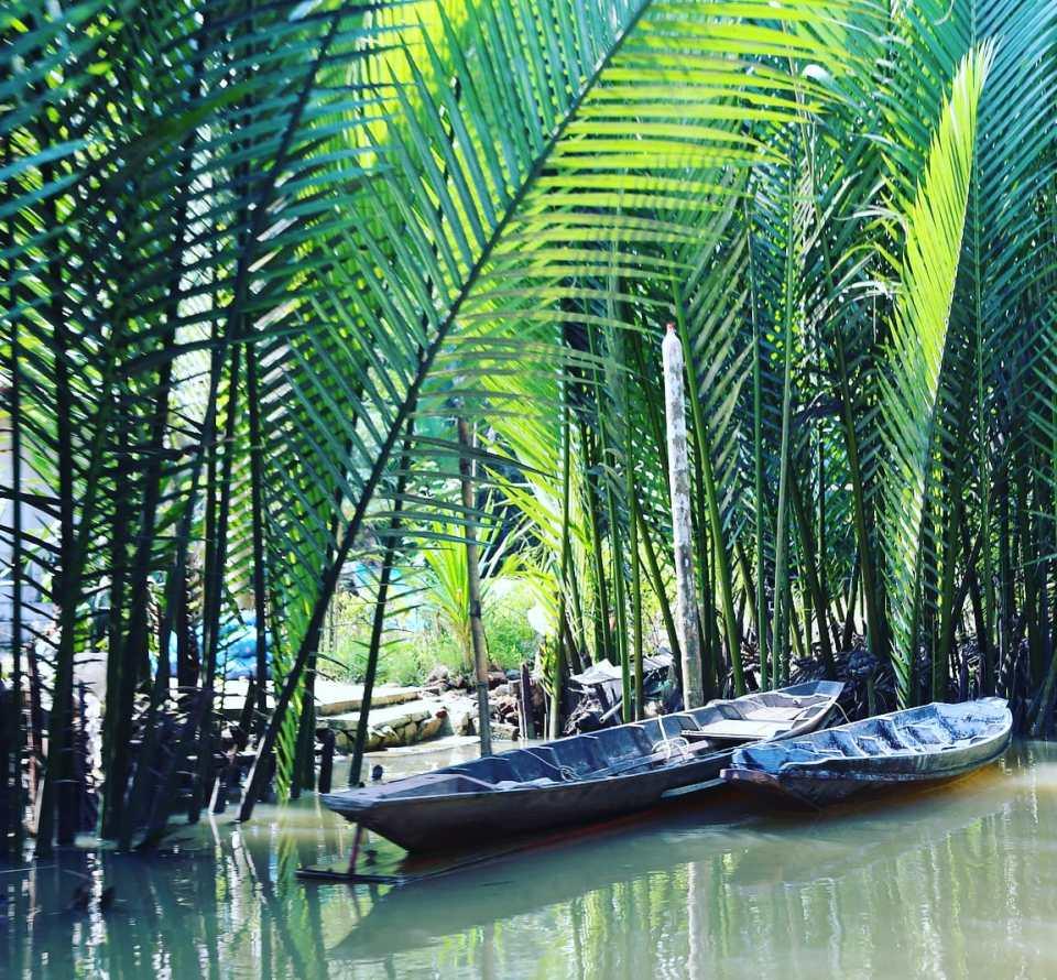 Tapi River delta Surat Thani