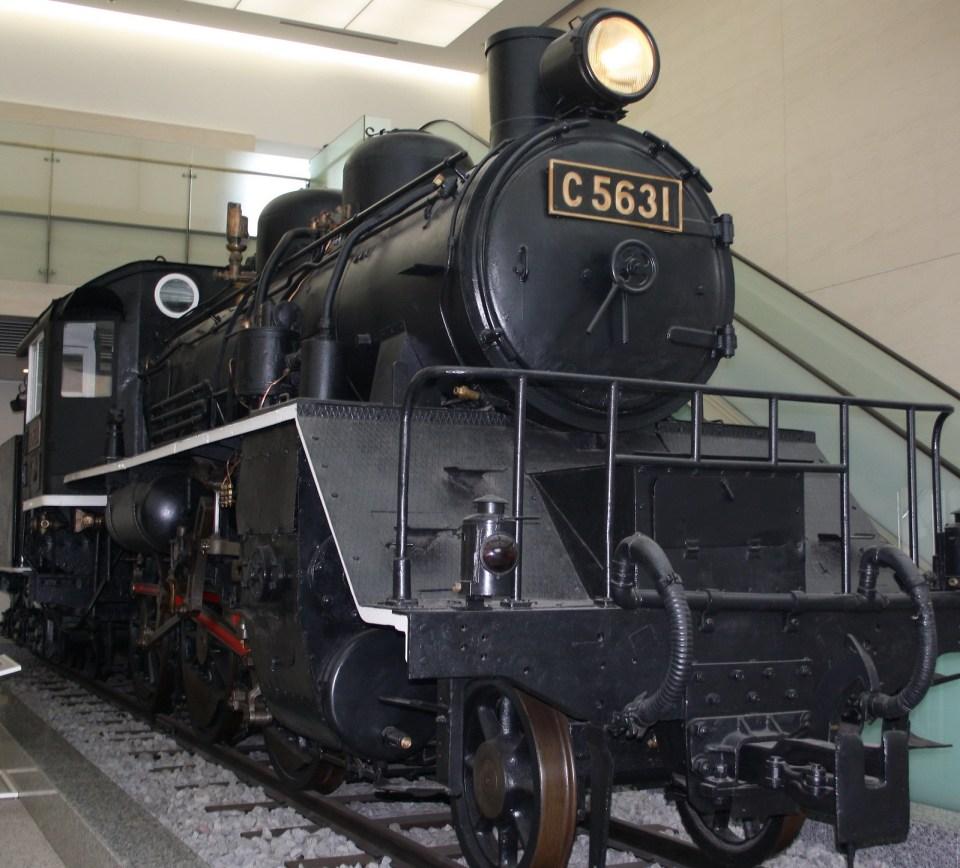 Locomotive for the Death Railway seen at Yasukuni museum Tokyo