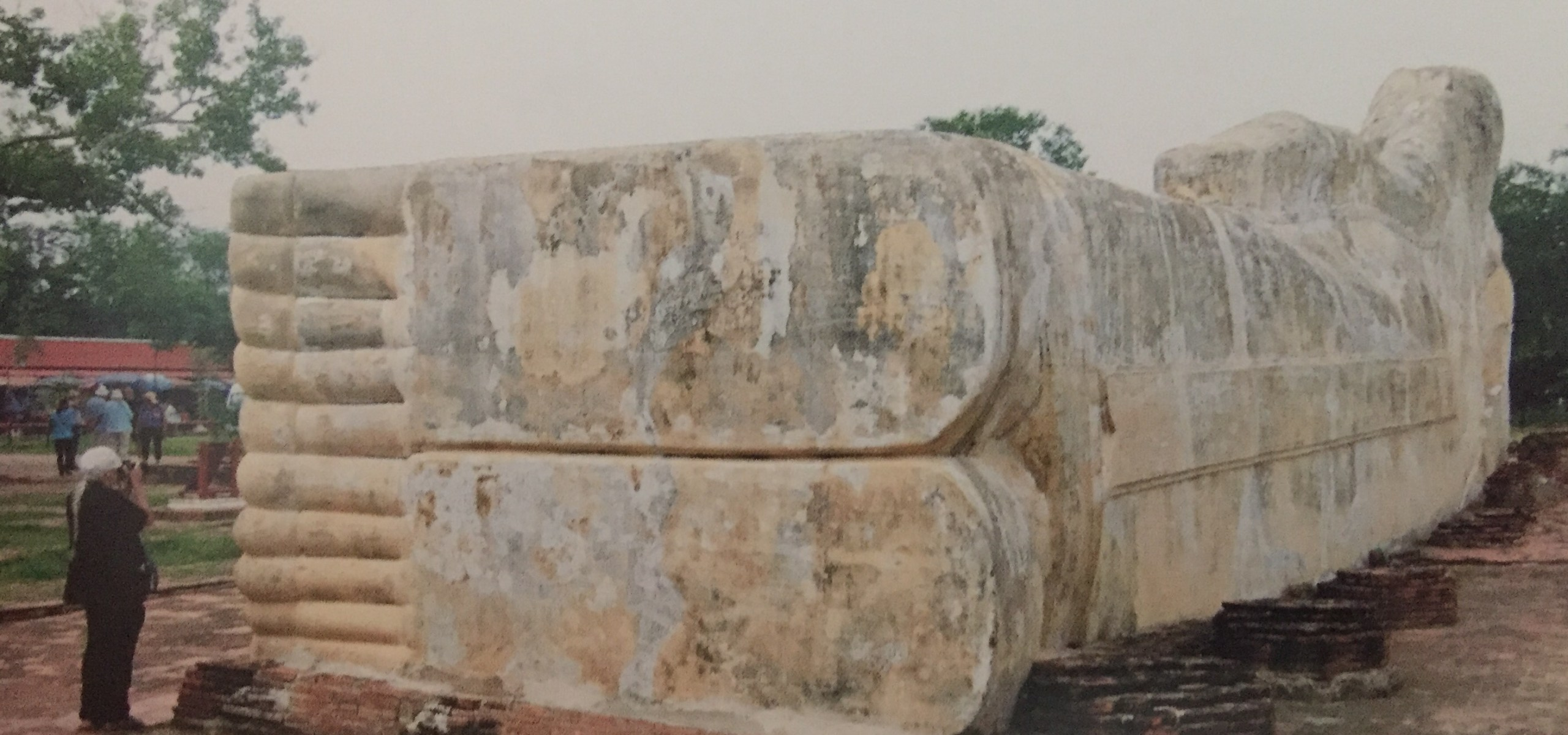 The reclining Buddha Ayutthaya