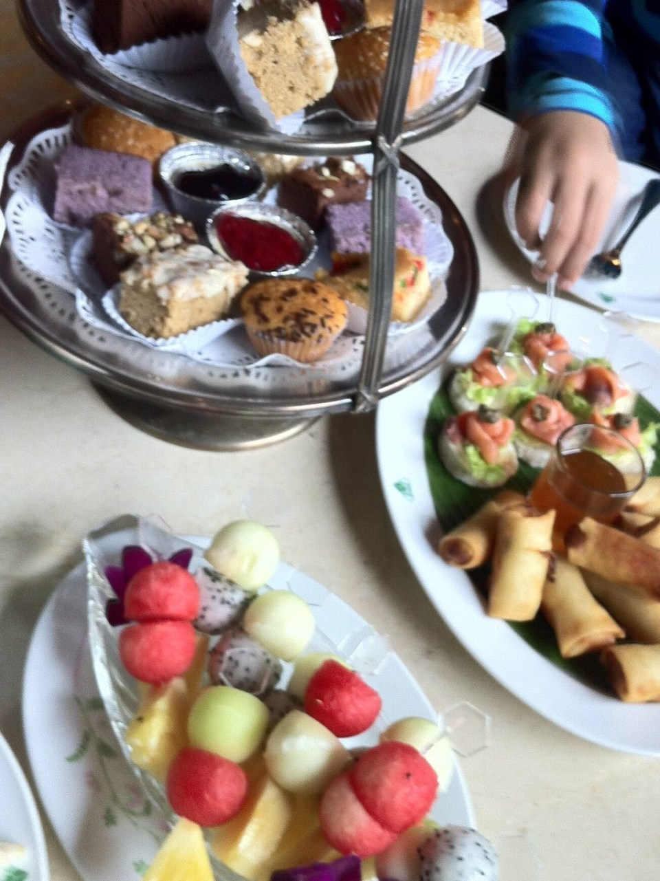 High Afternoon Tea at Imperial hotel Chiang Mai