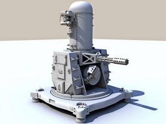 Vulcan Phalanx CIWS